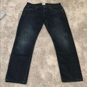 Men's Hudson Designer Jeans - Size 33 x 32
